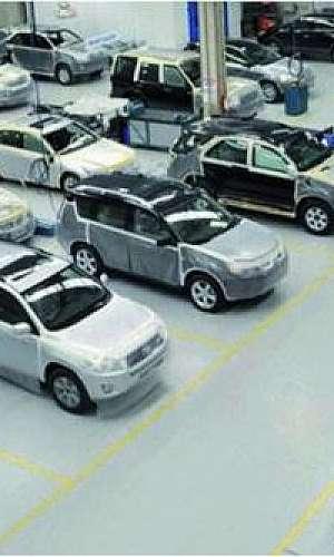 Centro automotivo em SP