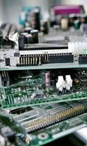 centro de coleta de lixo eletrônico