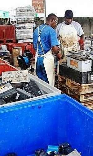 Coleta de baterias no estado de São Paulo