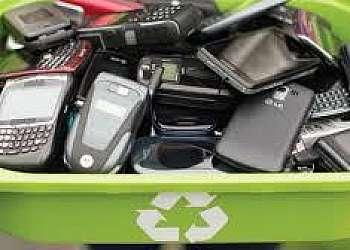 Coleta de celulares