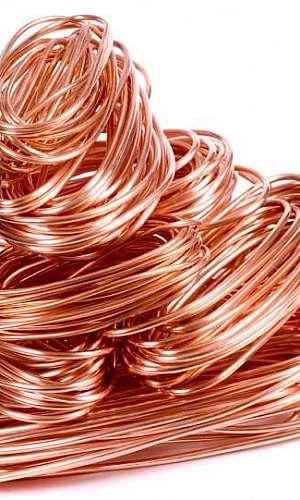 Coleta de cobre