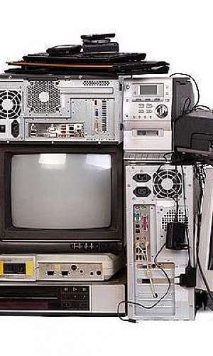 Coleta de equipamentos eletrônicos em es