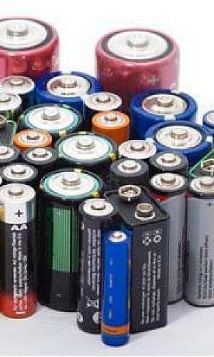 Coleta de pilhas usadas