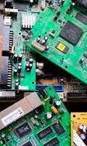 coleta de sucata eletrônica