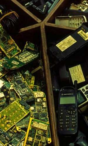 Descarte de aparelhos eletrônicos