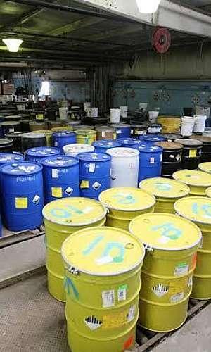 descarte de produtos químicos vencidos