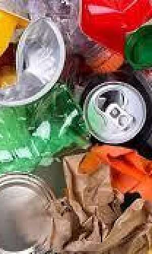 descarte de resíduo
