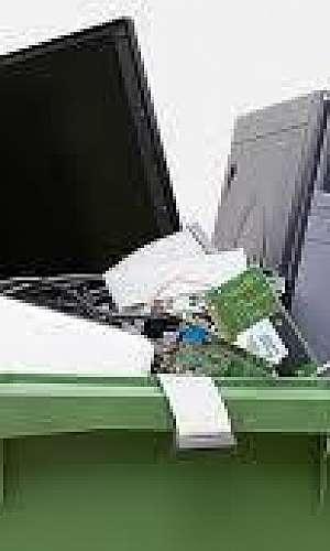 Descarte lixo eletrônico