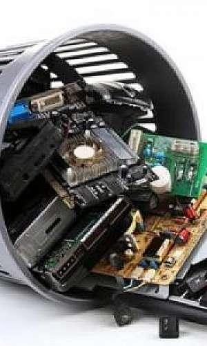 Destinação de resíduo eletrônico