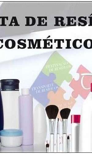 Destinação de resíduos de cosméticos
