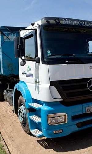 Empresas de transporte de resíduos
