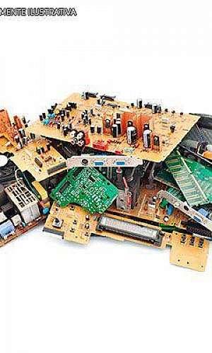 Empresas especializadas em lixo eletrônico