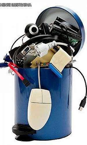 Empresas que recolhem lixo eletrônico