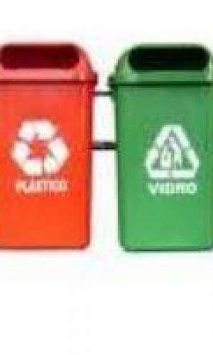 Lixeira para reciclagem