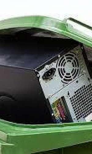 Lixo eletrônico reciclagem