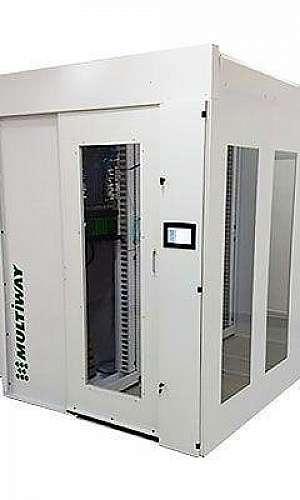 Mini data center rack