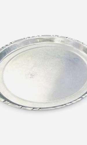 Prato de alumínio