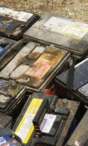 Reciclagem de baterias