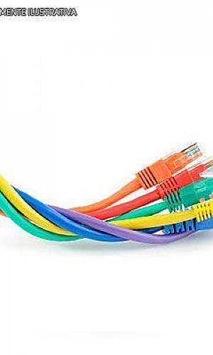 Reciclagem de cabo de rede