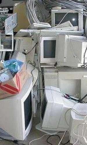 reciclagem de equipamentos de telecom