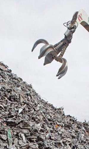 reciclagem de ferro e aço
