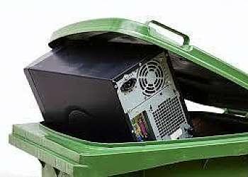 Reciclagem de lixo de informática