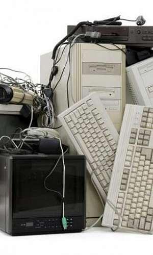 Reciclagem de materiais de informática
