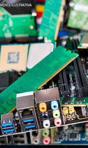 Reciclagem de material eletrônico