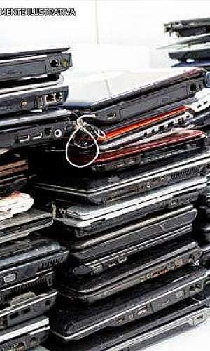 Reciclagem de notebook