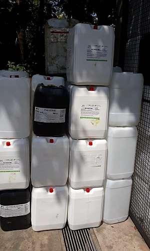 Reciclagem de solventes orgânicos
