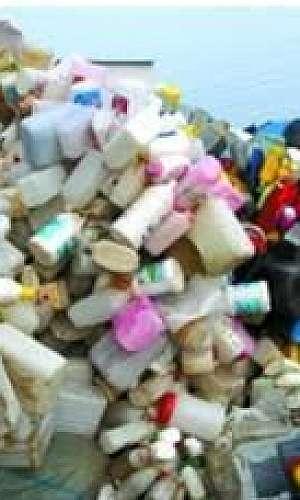 resíduos cosméticos