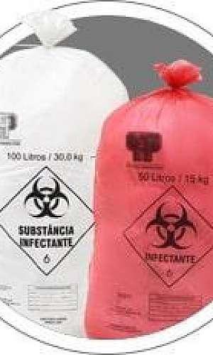 Saco de lixo para material infectante 20