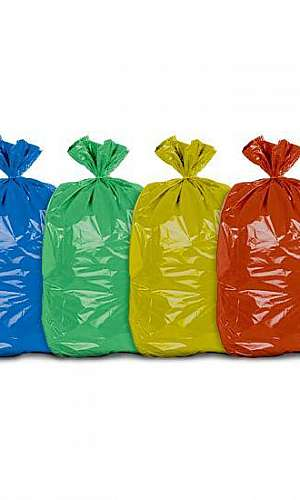 Saco para lixo reciclado