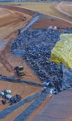 serviço de coleta de resíduos