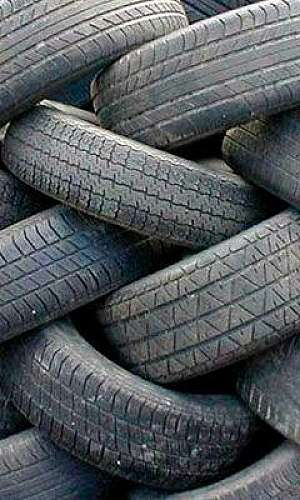 Serviço de destinação de pneus