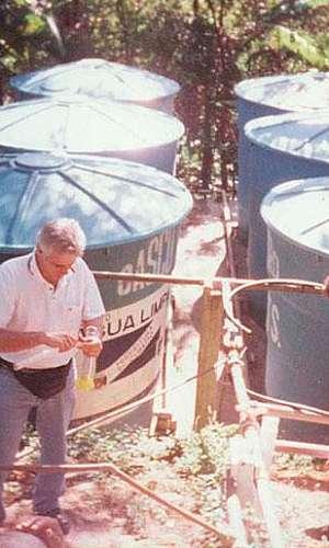 Sistema de reutilização de água