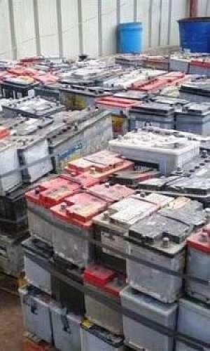 Sucata de baterias automotivas
